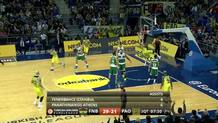 Sloukas to Vesely alley-oop
