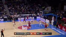 Bradley Wanamaker misses, Madrid wins