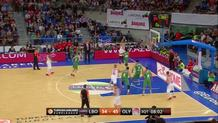 Printezis drains three after good team ball