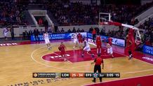 Anadolu Efes Istanbul at Lokomotiv Kuban Krasnodar on January 8, 2016 (discrete) (id:dis_2, type:Made Shot)