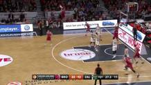 Bamberg hits the Cutter for the dunk