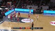 Zalgiris Kaunas up and under layup