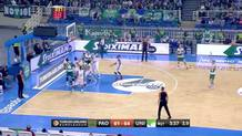 Sasha Pavlovic, off-balance basket