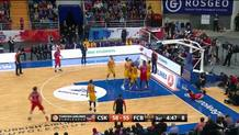 Teodosic off-balance runner