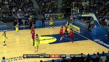 Ricky Hickman (Fenerbahce) assist