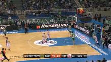 Nick Calathes, fast break layup