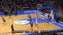 Kuzminskas goes coast-to-coast