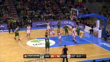 Unicaja's passing clinic