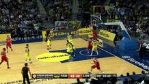 Anthony Randolph (Lokomotiv) alley-oop slam