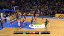 Kuzminskas slams with authority