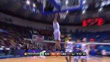 Mike James, fast break dunk