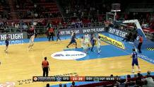 Derrick Brown's dunk-plus-foul (Efes)