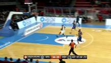Jamon Gordon (Darussafaka) steal and layup