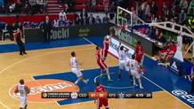 Luke Babic  (Cedevita) fast break