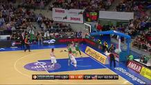 CSKA Moscow at Laboral Kutxa Vitoria Gasteiz on January 21, 2016 (discrete) (id:dis_12, type:Missed Shot)