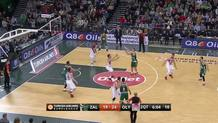 Big man passing game!Zalgiris