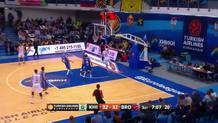 Leon Radosevic, fast break dunk