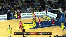 Pero Antic (Fenerbahce) three-pointer
