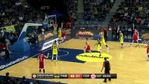 James White (Cedevita) layup