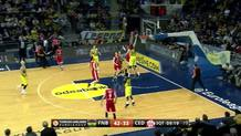 James White (Cedevita) coast-to-coast slam