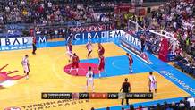Tarence Kinsey (Zvezda) jumper and foul