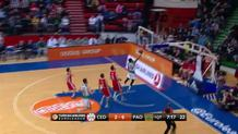 James Feldeine layup (Panathinaikos)