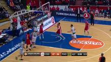 Sasha Pavlovic finger roll (Panathinaikos)