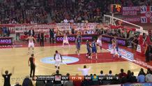 Spanoulis for Hunter's monster dunk