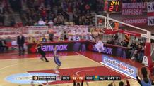 D.J. Strawberry fastbreak dunk
