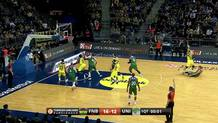 End of first quarter, Fener vs Unicaja