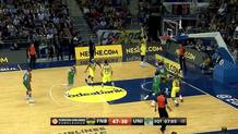 Great block from Udoh on Fran Vazquez! #notinmyhouse #hatmakers