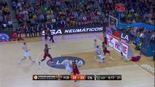 Sasha Vezenkov, steal and layup