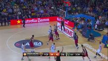 Renaldas Seibutis, three-pointer