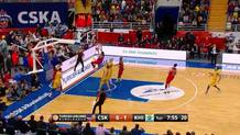Kurbanov finishes fast break in style