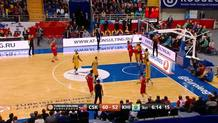 Kurbanov rocks the rim