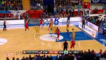 Teodosic from long range
