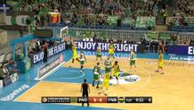 Vesely's big dunk for starters