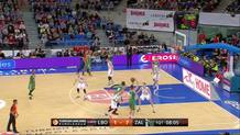 Zalgiris Kaunas at Laboral Kutxa Vitoria Gasteiz on February 25, 2016 (discrete) (id:dis_2, type:Made Shot)