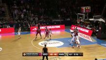 Sergio Llull (Madrid) jumper and foul