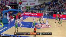 Dairis Bertans, three-pointer