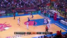 Bryant Dunston (Efes) blocked shot