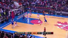 Jon Diebler (Efes) three-pointer