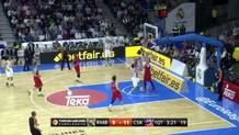 Sergio Rodriguez (Madrid) fast break