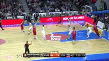 Vitaly Fridzon (CSKA) three-pointer