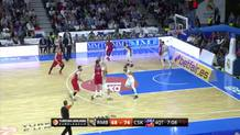 Nando De Colo (CSKA) three-pointer