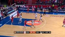 Jacob Pullen (Cedevita) three-point play