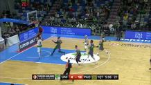 Sasha Pavlovic, fast break dunk