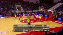 Bogdan Bogdanovic (Fenerbahce) three-pointer