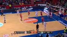 Nedovic for Vazquez bullet-pass alley-oop