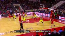 Victor Claver (Lokomotiv) three-pointer
